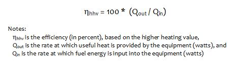 combustor efficiency equation