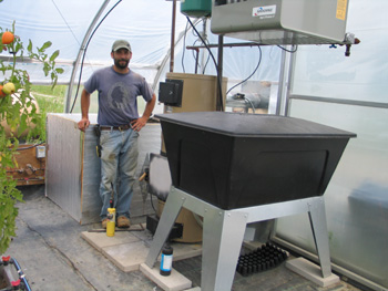 Shell Corn as a Fuel for Greenhouse Heat – Farm Energy
